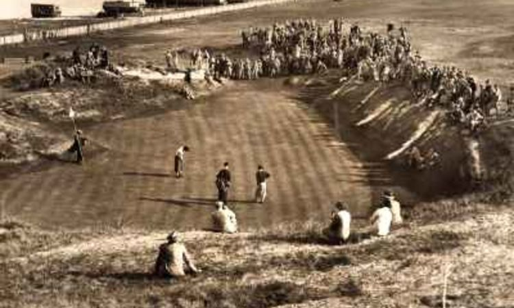 Ladies open on 13th Green 1936