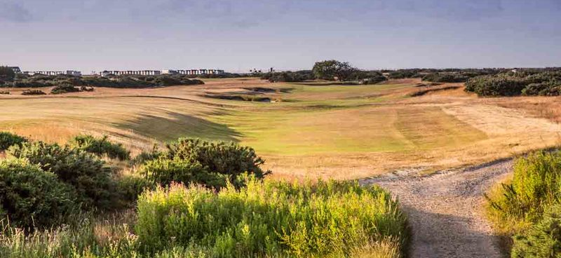 15th fairway from cutting