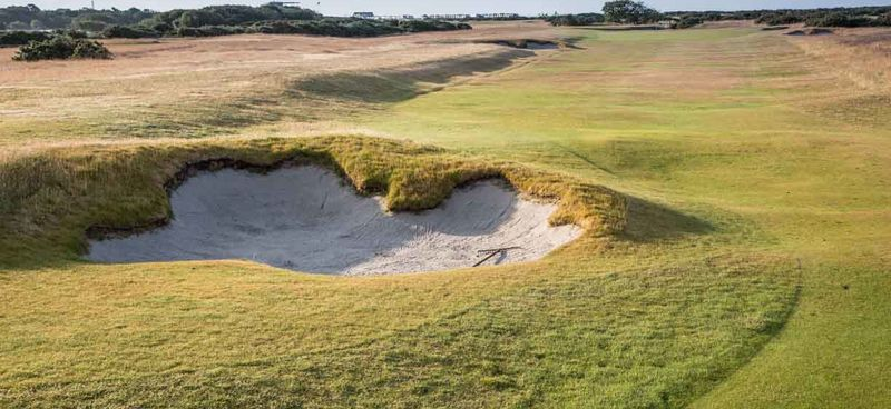 15th fairway bunker to green