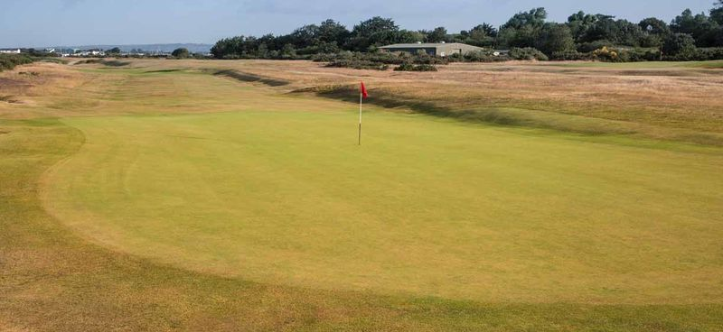 15th fairway from behind green